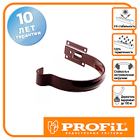 Держак ринви Profil метал. малий 90 коричневий
