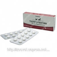 Тиопротектин Таблетки 0,1г. №20