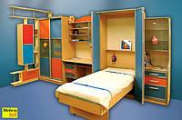 Детская модульная стенка со шкафом-кроватью