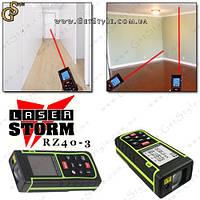 """Лазерная рулетка (дальномер) - """"Laser Storm Rz40"""" - 40 метров!"""