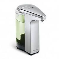 """Дозатор жидкого мыла """"Compact"""" 0,237 л. Сенсорный, С мылом, Матовый никель"""