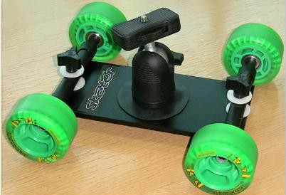 Тележка Proaim Skater Wheel Dolly Camera Video Slider