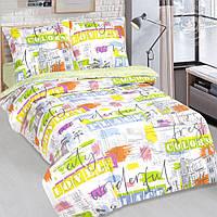 Комплект постельного белья Краски города, поплин (Детский)