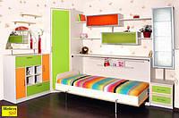Детская мебель с откидной шкаф-кроватью
