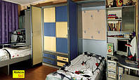 Шкаф-купе с ящиками и шкаф-кроватью, фото 1