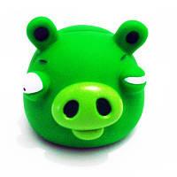 Копилка Angry Birds, зеленый свин