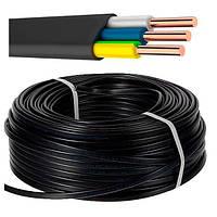 ВВГ3х1,5 Пнг  кабель для освещения негорючий плоский цена от 100м