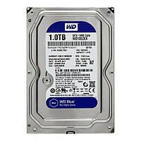 """Жёсткий диск 3,5"""" SATA III 1TB Western Digital Blue WD10EZEX 64MB 7200 новый"""