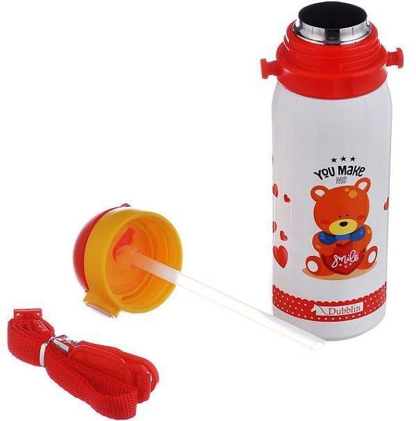 Дитячий термос A-Plus 1624 з мишком, 450мл