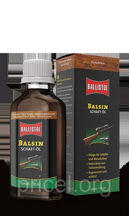 Средство для обработки дерева Klever Ballistol Balsin 50 ml (темно-коричневое) (23152)