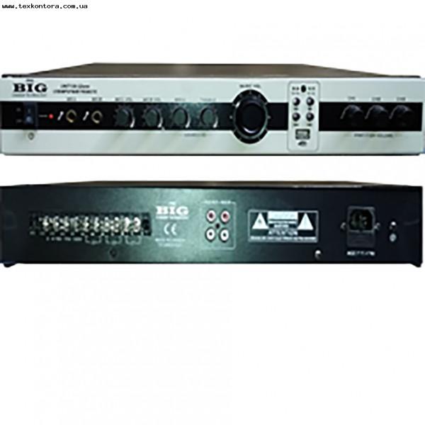 Трансляционный усилитель UNIT-180 -3zone USB/MP3/FM/BT/REMOTE