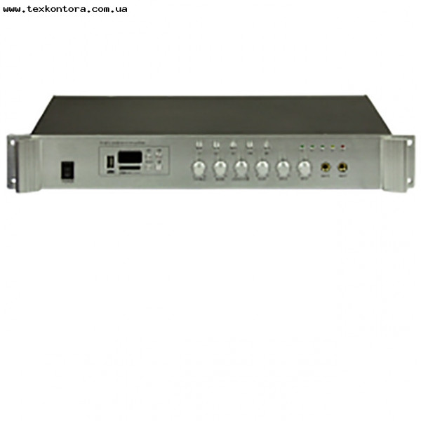 Усилитель мощности для трансляции звука PA250 5zone USB/MP3/FM/BT/REMOTE
