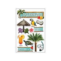 Наклейки 3D - Caribbean - Paper House