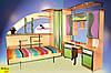 Горизонтальная шкаф-кровать в детскую