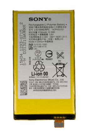 Акумулятор (Батарея) для Sony E5803 Xperia Z5 Compact Mini LIS1594ERPC (2700 mAh) Оригінал, фото 2