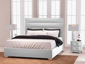 Кровать Zevs-M Титан полуторная 140 х 190, Белый, без механизма