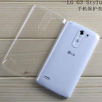 Прозрачный чехол на LG G3 Stylus Dual D690 силиконовый ультратонкий