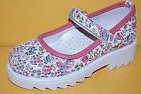 Детские Туфли Bistfor Украина 67343 Для девочек Рожевий розміри 26_35, фото 1