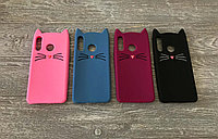 Резиновый 3D чехол Усики для Huawei P30 Lite (4 цвета)