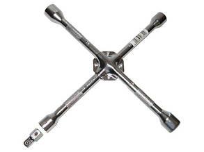 """Ключ балонный """"крест"""" 17х19х21x23х1/2"""" 14"""" усилен.  TOOLWIZ"""