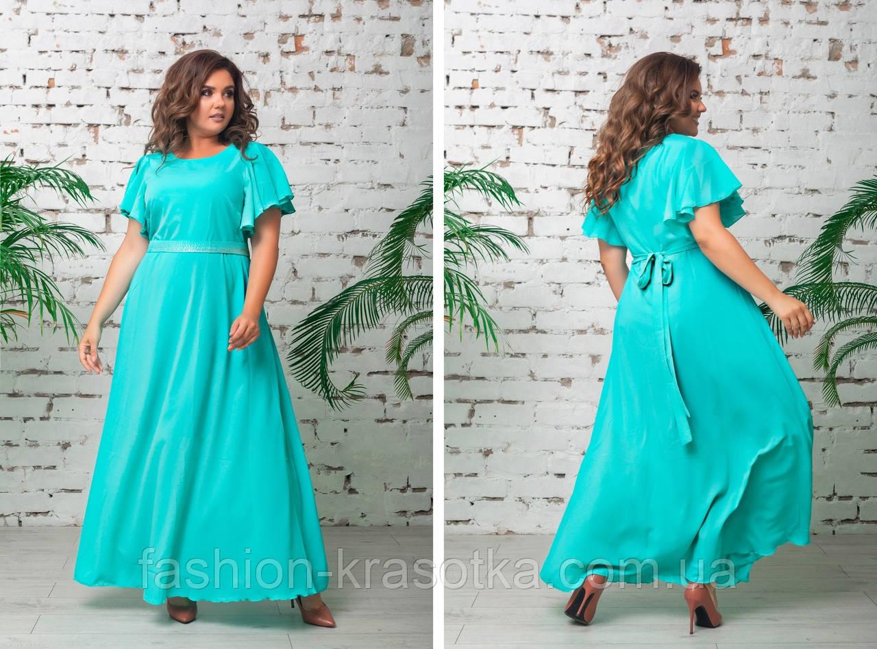 Нарядное вечернее платье,размеры:48,50,52,54.