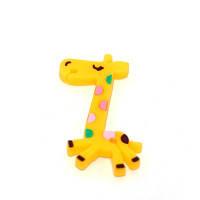 Органайзер для проводов ввиде Жирафы  желтый