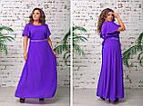 Нарядное вечернее платье,размеры:48,50,52,54., фото 4