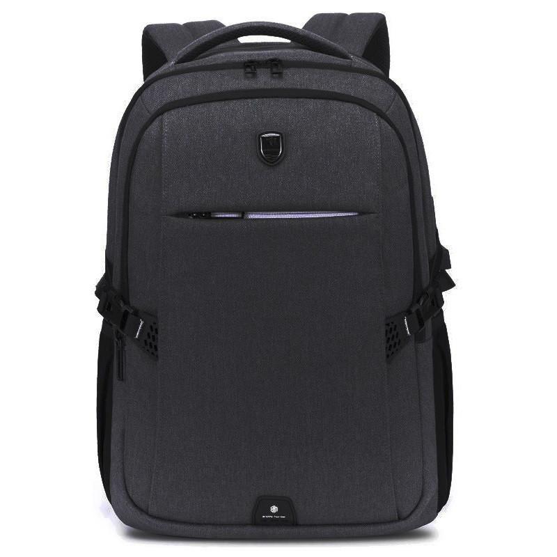 """Городской рюкзак Arctic Hunter B00338, с USB портом, тремя отделениями, для ноутбука до 15,6"""", 25л"""