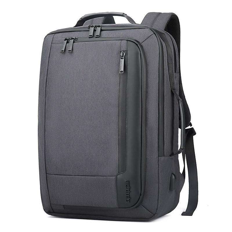 Городской портфель-сумка-рюкзак-брифкейс 4в1 Arctic Hunter B00330 с USB портом, 25л