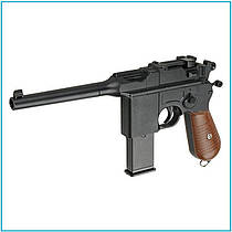 Детский пистолет G.12 маузер страйкбольный, пластиковые пули, пістолет
