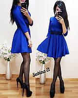 Жіноче плаття з дайвінгу з мереживом, фото 1