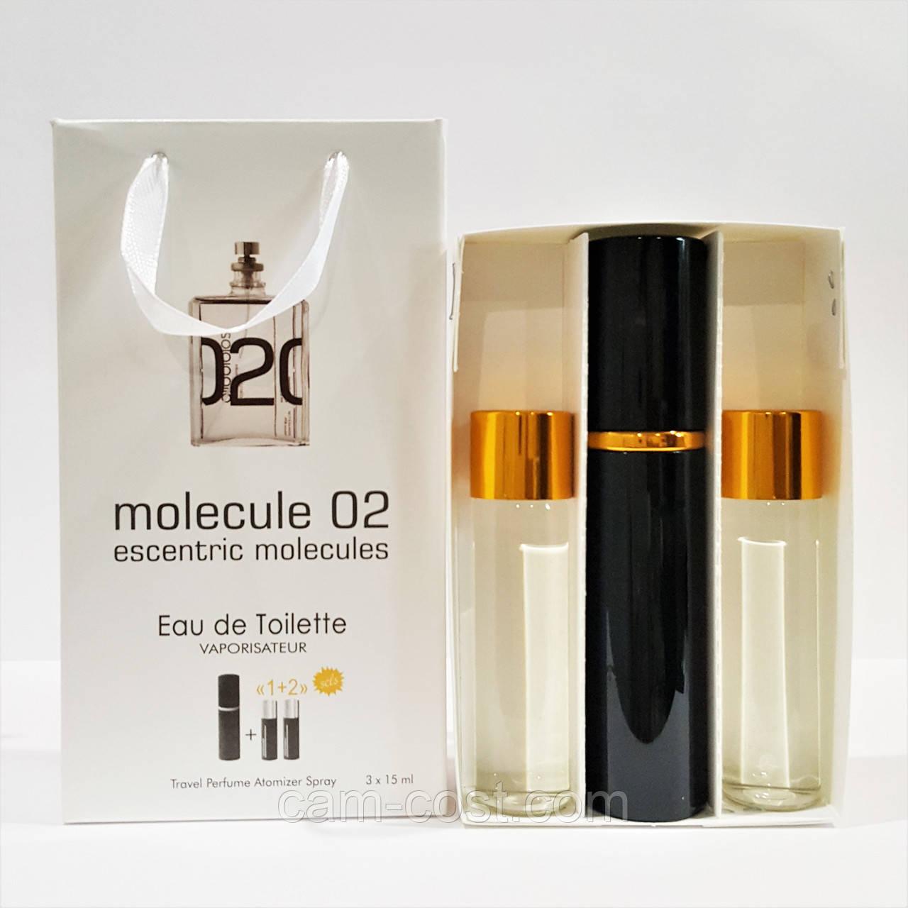 Подарунковий набір з феромонами 3в1 Escentric Molecules Molecule 02