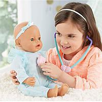 Интерактивный пупс вылечи меня мама, Baby Born Mommy Make Me Better, зеленые глаза. Оригинал, Zapf Creation