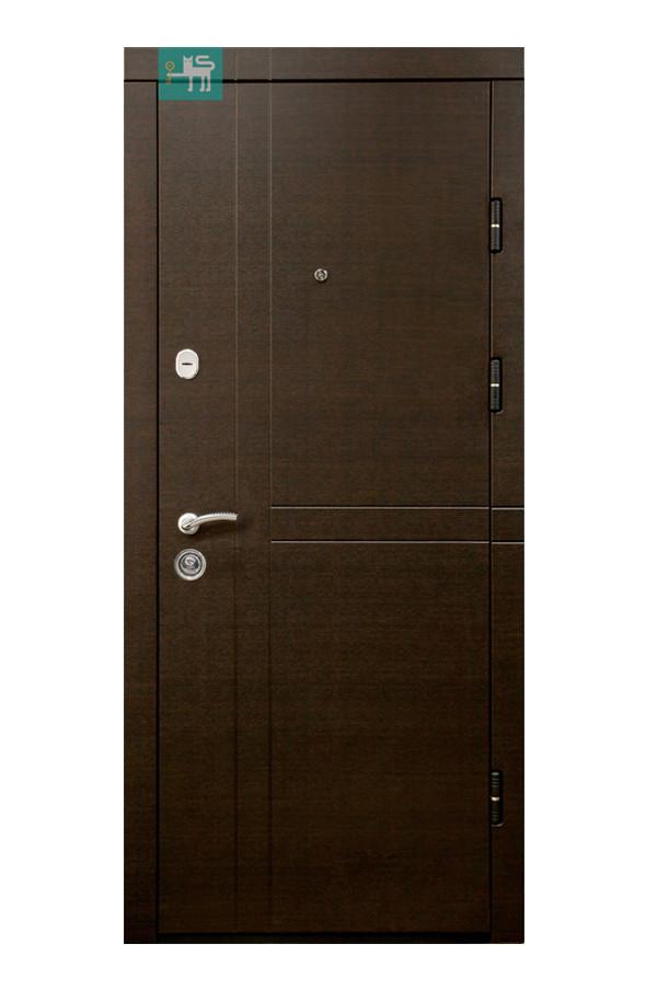 Входные двери ПK-180/161 ЭЛИT Beнгe гoризoнт тeмний/Цaргa Beнгe