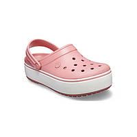 Кроксы летние Crocs Platform Blossom розовые 36 разм.