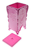 Контейнер-емкость для безворсовых салфеток Butterfly, розовый