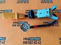 Важіль (ручка) перемикання руху (реверс+передачі, жовта) для спецтехніки JCB (арт.701/80145)