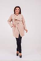 Модний жіночий кашеміровий кардиган з поясом .Р-ри 42-60