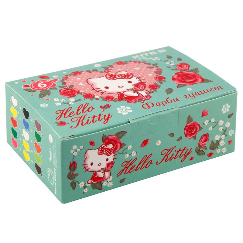 Краски гуашь Kite 062 Hello Kitty, 6 цветов, по 20 мл HK19-062