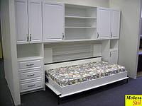 Горизонтальная шкаф-кровать, фото 1