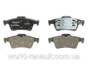 Комплект задних тормозных колодок Рено Лагуна II / DELPHI LP1701