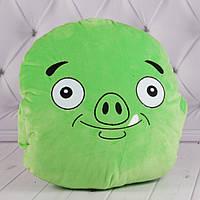 """Детская подушка-муфта """"Angry Birds"""" Король Свиней, плюшевая подушка птичка, подушка-муфта, """"Энгри Бердс"""""""