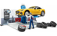 Bruder Игровой набор Автомастерская с фигурками и аксессуарами (62110)
