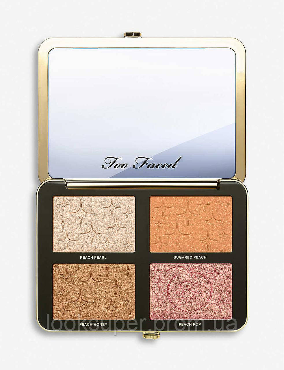 Палетка для лица Too Faced Sugar Peach wet and dry face and eye palette (19.28g)