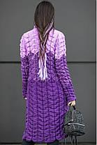 Молодёжный  вязаный кардиган с 42 по 50 размер, фото 2