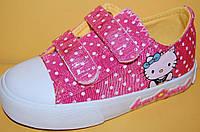 Детские Кеды Шалунишка Украина 300-508 Для девочек Розовый размеры 26_31, фото 1
