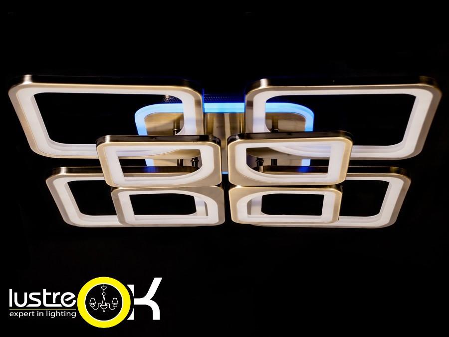 Led люстра Люстра припотолочная MX2281/4+4BR LED dimmer
