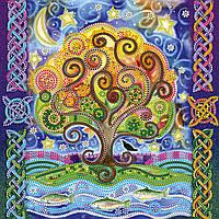 Схема для вышивки бисером на натуральном художественном холсте У лукоморья