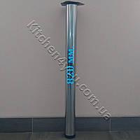 Круглая опора для стола высота 820 мм. хром