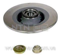 Задний тормозной диск с подшипником на Рено Laguna II 01г. / SNR KF155.81U